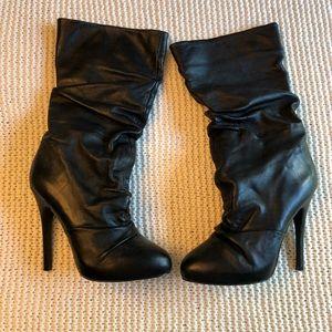Aldo Slouchy High Heel Boots
